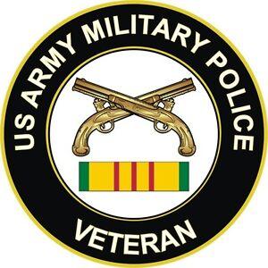 Army-Military-Police-Vietnam-Veteran-5-5-034-Window-Sticker-039-Officially-Licensed-039