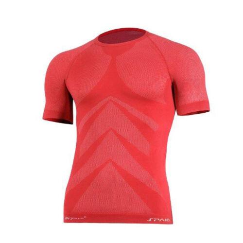 sehr leicht 3D ELASTISCH  Thermoaktiv Fitness Funktionsshirt Jogging Laufshirt Bekleidung Weitere Sportarten