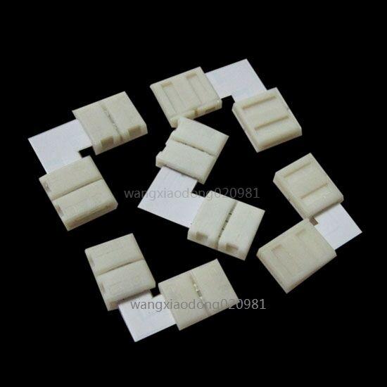 LED Strip Connectors T L X Shape PCB no soldering no welding 3528 8mm/ 5050 10mm