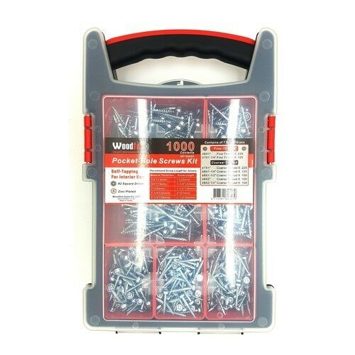 Woodfox 1000 piece Screw Assortment MP1000SK