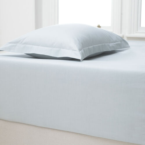 Extra Deep Fitted Sheets Luxury 100/% Percale Cotton 180 Thread Count All Sizes