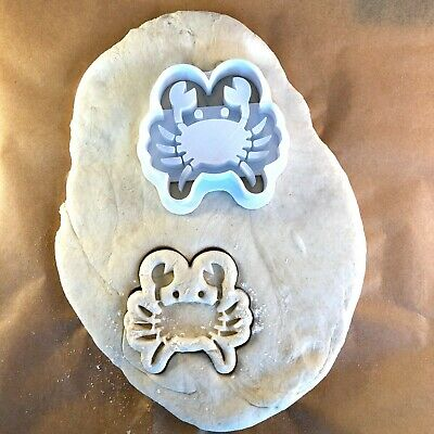 100% Waar Crab - Cancer - Cookie Cutter - Cute - Biscuit - Fondant - Clay - Play Dough