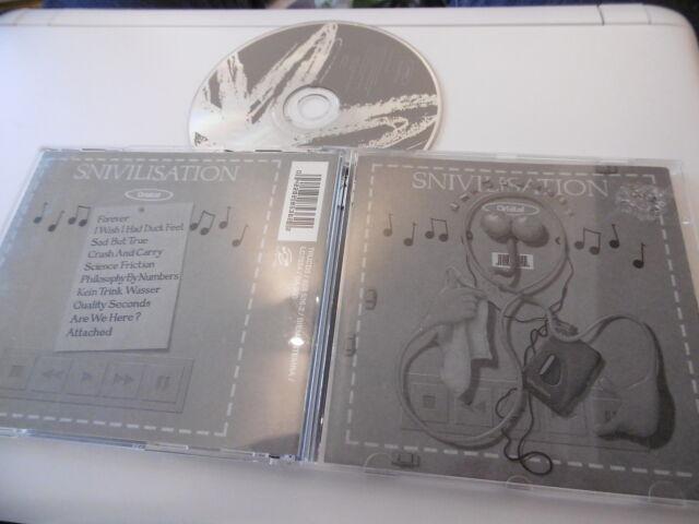 Underworld Snivilisation CD 10 Canciones Forever Sad But True Ciencia Fricción
