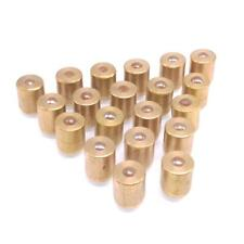20pcs M10 X 12mm Copper Press In Fit Ball Type Oil Cup Oiler Lathe Engine Motor