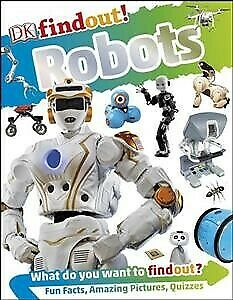 Dkfindout! Robots, Paperback by Lepora, Dr Nathan, Brand New, Free shipping