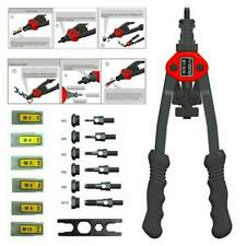Riveter Gun steel 50//60 Nuts M3-M10 Hand Threaded Premium Automatic Rivet Tool