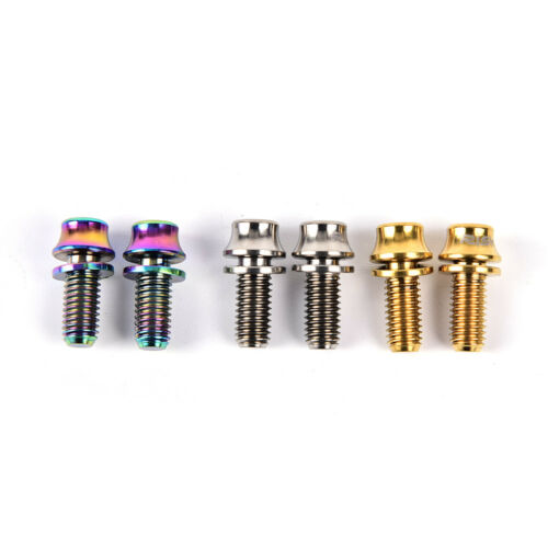 M5x12mm*Titanium Bicycle Water Bottle Cage Bolt Bicycle Bottle Holder Screw Hg