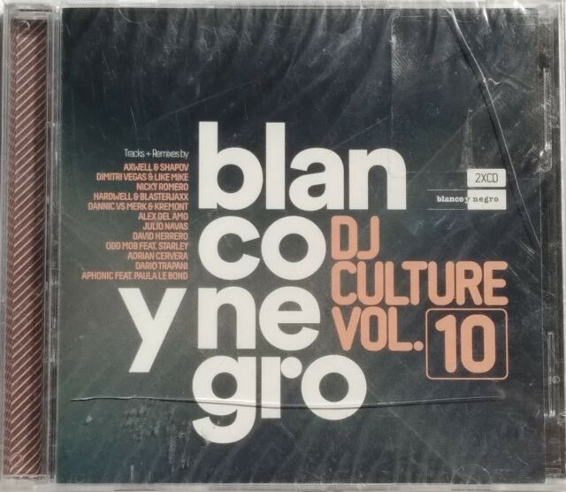 DOUBLE CD BLANCO Y NEGRO - DJ CULTURE VOL.10 neuf sous blister