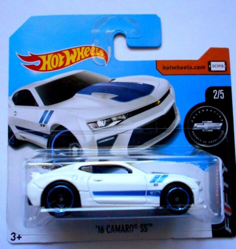 T CAMARO FIFTY -DVC45 D5B6  MATTEL 2H HOT WHEELS /'16 CAMARO SS