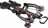 2234 Barnett Vengeance Crossbow With 3x32mm Scope Package Carbon Black