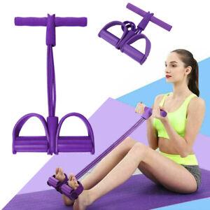 Neu Fitness Elastic Sit Up Zugseil Bauchmuskeltrainer Home Sport Equipment P C5T