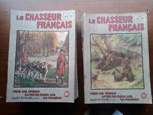 Revues-Le-chasseur-francais-Ans-1936-a-1939-et-1947-a-1964-20-les-12