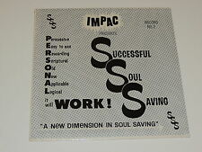 IMPAC PRESENTS SUCCESSFUL SOUL SAVING NO. 2 Lp RECORD SSS GOSPEL SEALED