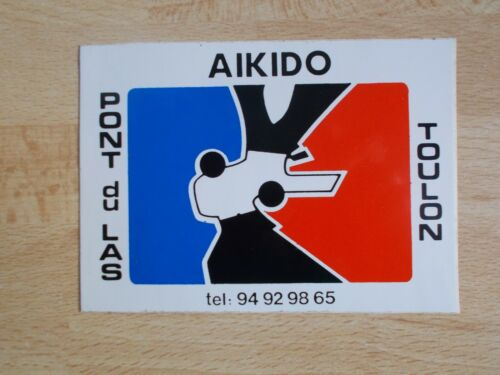 The Las Toulon Sticker Aikido Bridge of