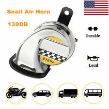 Us 130db Loud Motorcycle Car Snail Air Horn Waterproof 12v Universal