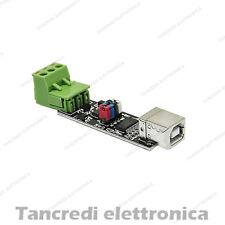Convertitore USB RS485 con FTDI232RL arduino converter bidirezionale