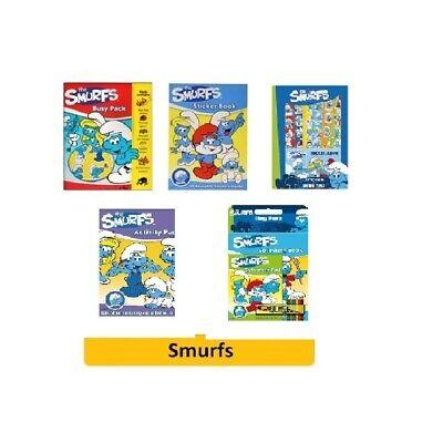 The Smurfs Colouring Set