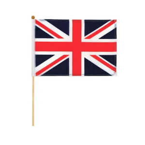 VE-DAY-Union-Jack-Hand-Waving-Flag-Bunting-British-World-War-2-Victory-in-Europe