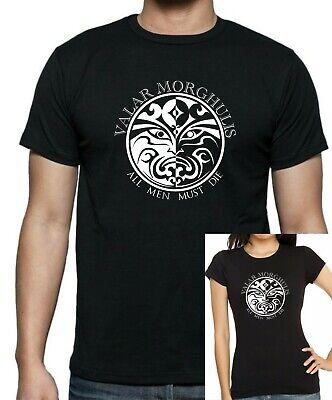 Capace Game Of Thrones: Quelli Senza Volto: Jaqen Gar: Valar Morghulis T-shirt Fino A 5x-mostra Il Titolo Originale Irrestringibile