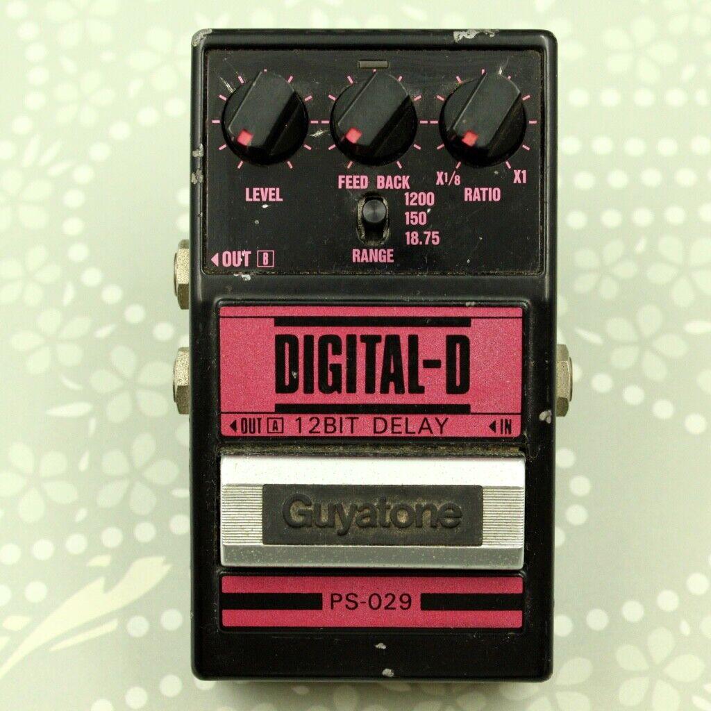 Guyatone PS-029 DIGITAL-D 12BIT DELAY MIJ Vintage guitar effect pedal (8326201)