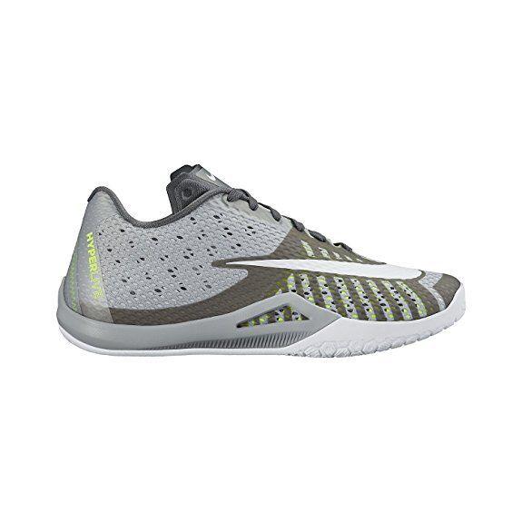 Nike Men Hyperlive Basketball Shoe Size 8.5,0,11,Color Grey/Pure Platinum Lot