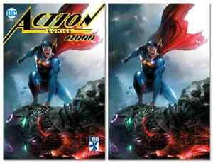 ACTION-COMICS-1000-FRANCESCO-MATTINA-VARIANT-TRADE-VIRGIN-SET-LIMITED-TO-1000