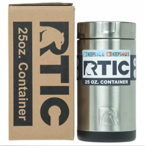 RTIC-Insulated-Food-Container-Stainless-Steel-25oz-Cooler-Lunch-thermos-hotcool