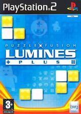 Lumines Plus Puzzle Fusion PS2 Playstation 2 IT IMPORT BUENA VISTA