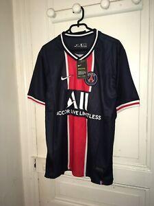 Maillot Paris Saint Germain PSG domicile 2020-2021 * NEUF & étiqueté * taille L