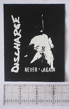 DISCHARGE Patch Crust Punk Antisect Aus-Rotten Filth Extreme Noise Terror Nausea