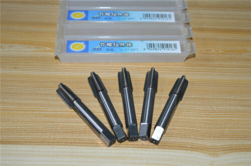 "1PCS   1//8/"" 27  NPT HSS  Taper Pipe Tap 1//8-27 TPI   High Carbon Steel"