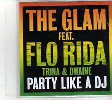 (DS161) The Glam ft Flo Rida, Trina & Dwaine, Party Like A DJ - 2012 DJ CD