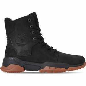 Men-039-s-Timberland-CityForce-Reveal-Leather-Boots-Black-Nubuck-A1UZA-001