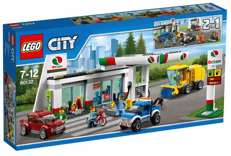 NOUVEAU &  NEUF dans sa boîte LEGO ® City 60132-Station-service NOUVEAU & NEUF dans sa boîte dépanneuse, etc.  livraison gratuite et échanges.