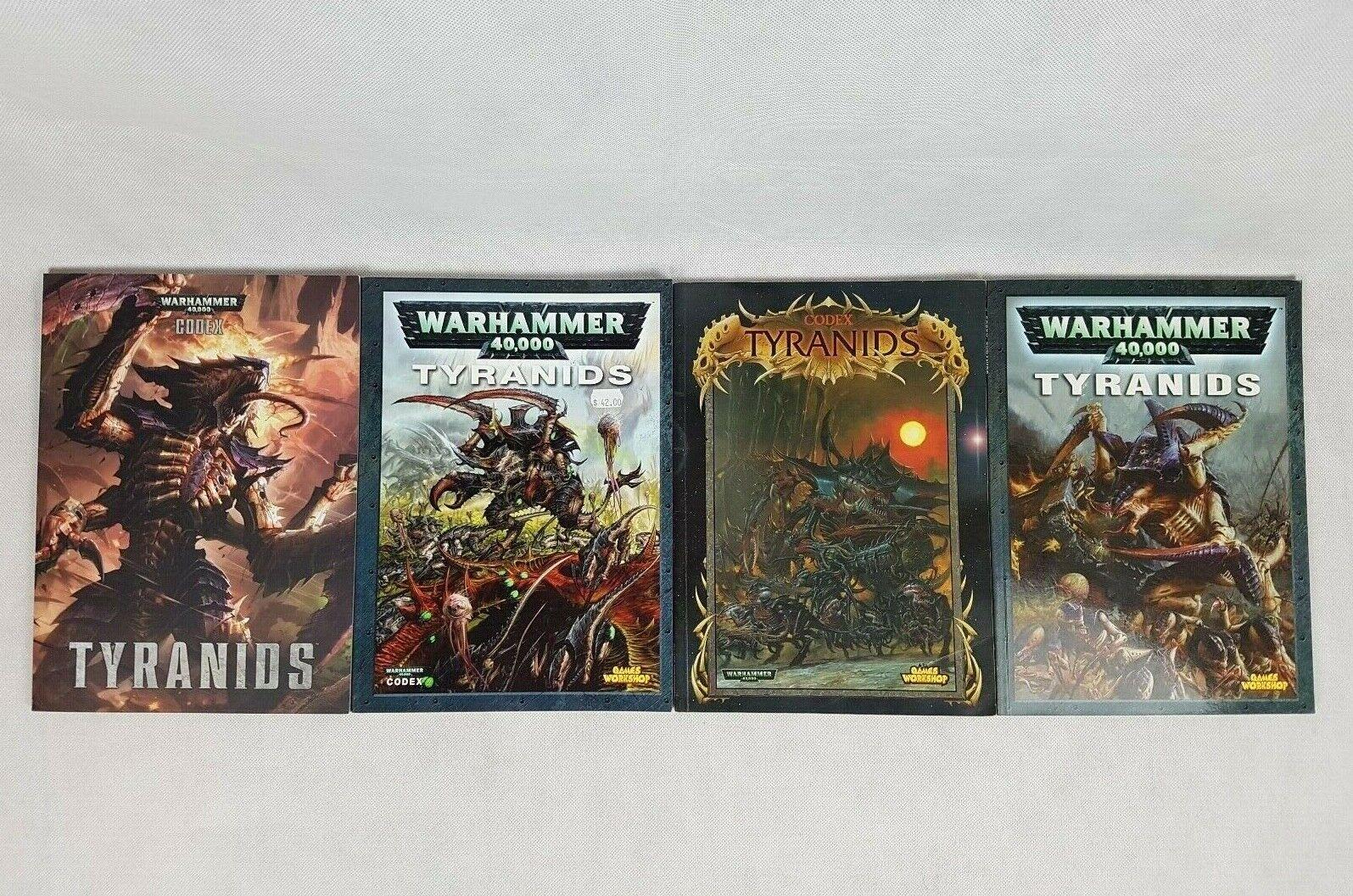 suministramos lo mejor Warhammer 40k Tyranids Codex Lot Of 4 4 4 By Juegos Workshop  comprar nuevo barato