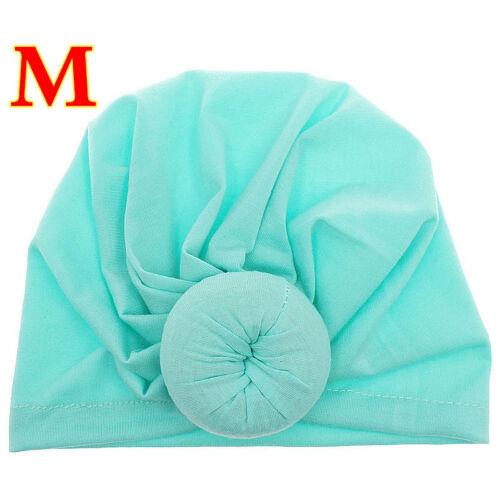Cute Baby Girl Kids Cap Head-wrap Turban Headbands Hat Bow Baby Accessories
