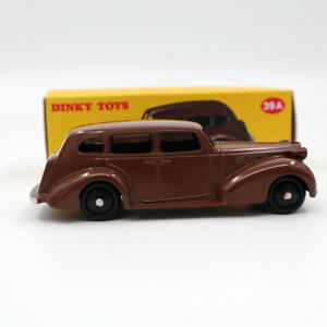 1-43-Atlas-Dinky-Toys-39A-Packard-Eight-Sedan-Diecast-Models-Car-Gift-Brown
