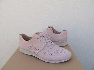 2b4603632a2 Details about UGG TYE QUARTZ PINK SOFT PERFORATED LEATHER FASHION SNEAKERS,  US 11/ EUR 42 ~NIB