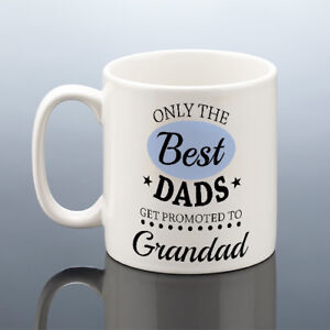 Image is loading BEST-GRANDAD-To-Be-MUG-Birthday-Gift-Gr&s- & BEST GRANDAD To Be MUG Birthday Gift Gramps Present New Grandpa Cup ...