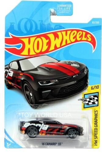 2019 Hot Wheels #82 HW Speed Graphics /'16 Camaro SS Borla