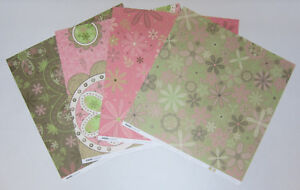 8-Kaisercraft-Double-Sided-Bloom-Scrapbooking-Paper-12-034-x12-034-Card-Making-amp-Craft
