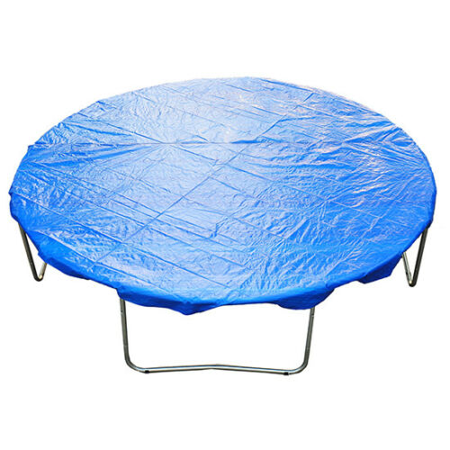 6FT Trampoline Universal Rain Dust Cover Weatherproof Guard Blue
