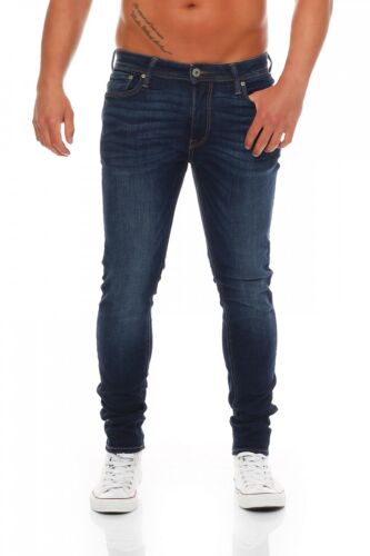 Jack /& Jones-Liam ORIGINALE am014-Skinny Fit-Blu Jeans Uomo Pantaloni