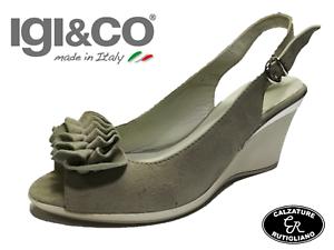 Vera Italy 68247 Tacco Pelle In Made Sandali co Scarpe Alto 38 Donna Igi tn1UR