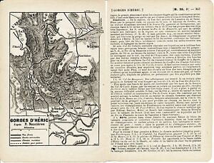 Castres-Gorges-d-039-Heric-1914-cartes-guide-18-p-Lavaur-Revel-St-Pons-Mazamet
