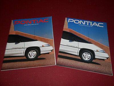 1990 PONTIAC FIREBIRD GRAND PRIX 6000 BONNEVILLE  84 p 12 p BROCHURE CATALOG