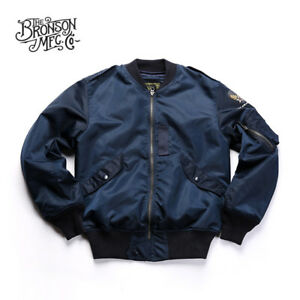 Bronson-L-2B-Flight-Jacket-Vintage-Flying-Lightweight-Men-039-s-Military-Windbreaker
