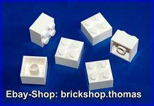 Lego 6 x Steine Bausteine weiß - 3003 - Basic Brick 2 x 2  white - NEU / NEW