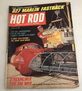 Hot Rod Magazine June 1965 327 Marlin Fastback