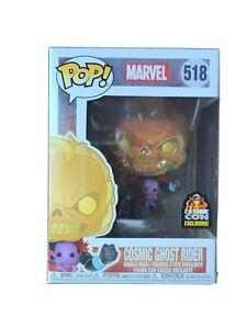 Funko-Pop-Marvel-Cosmic-Ghost-Rider-518-LA-Comic-Con-Excl-Figure-NEW-w-Thanos